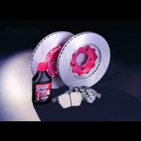 """GALFER sada předních brzdových kotoučů a desek """"kit EXTREME"""" MG ZR 2.0 TD -- rok výroby 01- / brzdový systém GIR, průměr kotouče 262mm, počet otvorů na šrouby 4 ( tato sada obsahuje sadu předních desek FDR1065, pár drážkovaných plovoucích předních kotoučů DFX, brzdovou kapalinu Racing a carbonové protihlukové shimy )"""